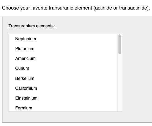 scrollable listbox screenshot