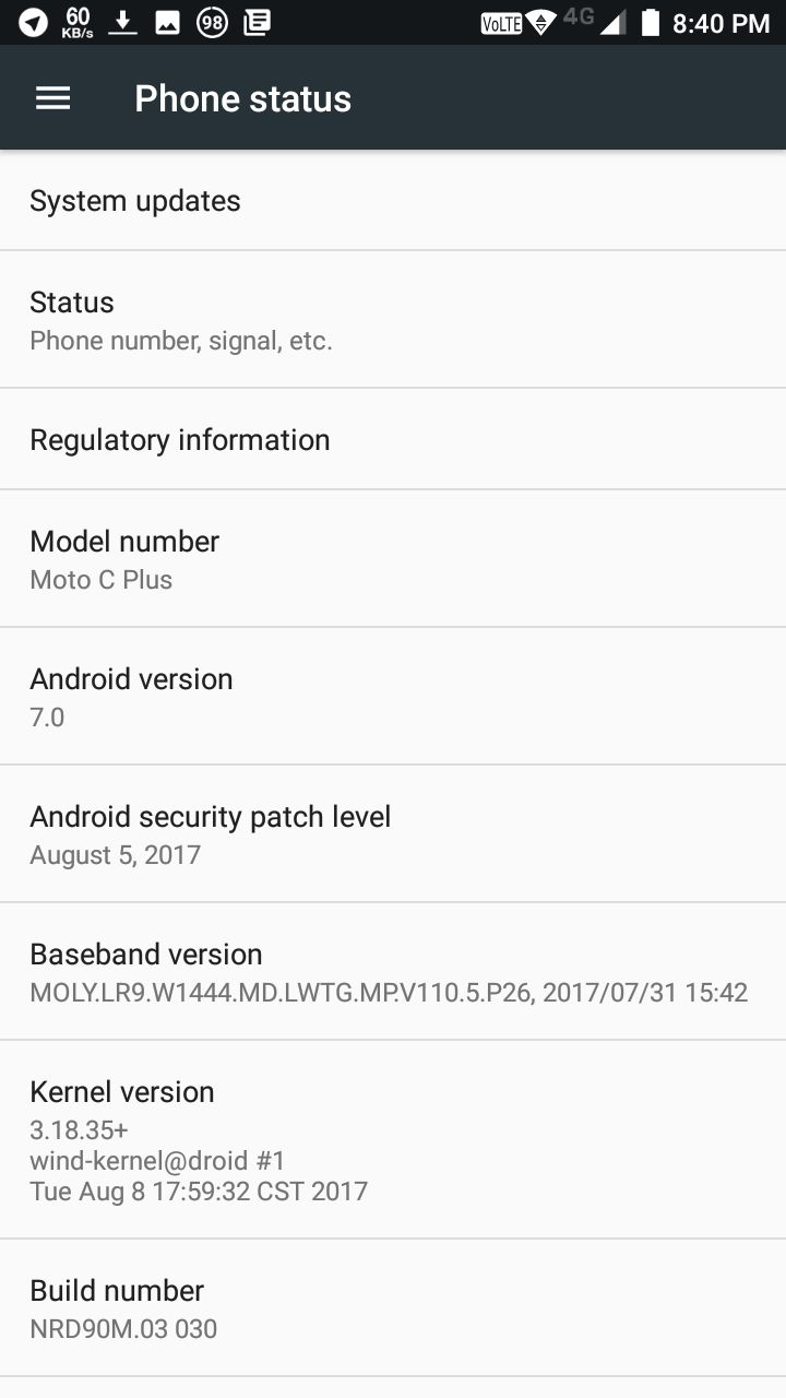 moto c plus (XT1721) kernel source · Issue #15