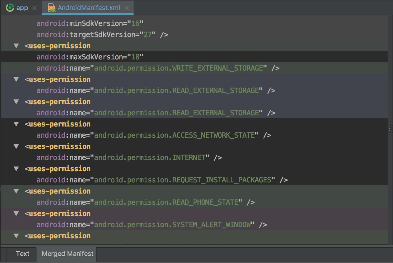 Android Permission Write_External_Storage write_external_storage permission is removedhockeyapp