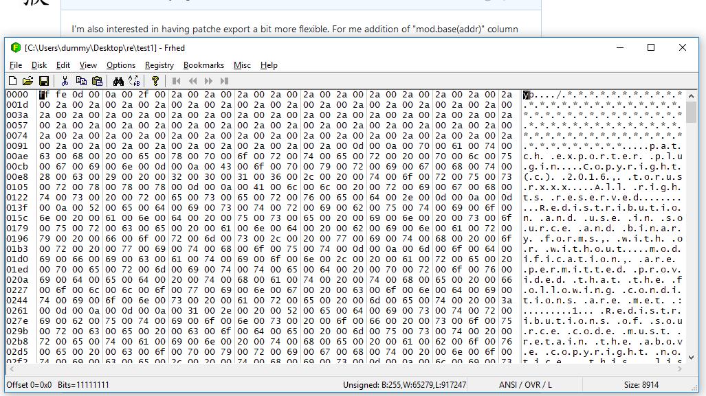 pls update patches feature · Issue #1886 · x64dbg/x64dbg
