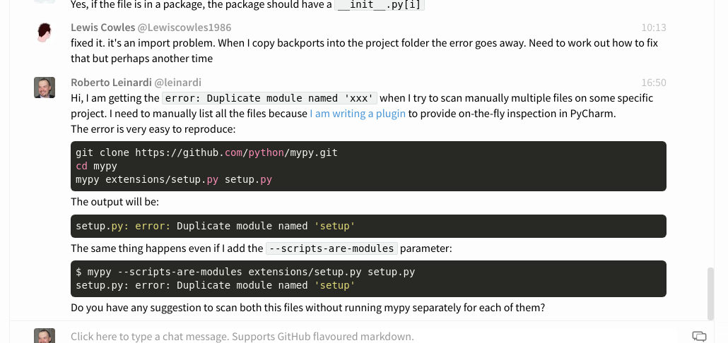Suppress 'duplicate module named xx' errors? · Issue #4008