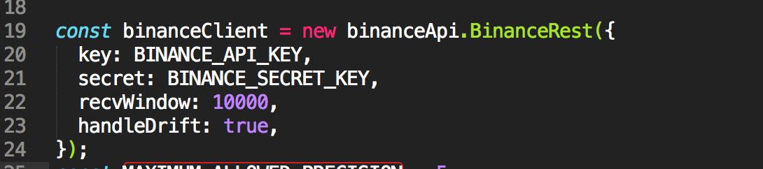 binance - Bountysource
