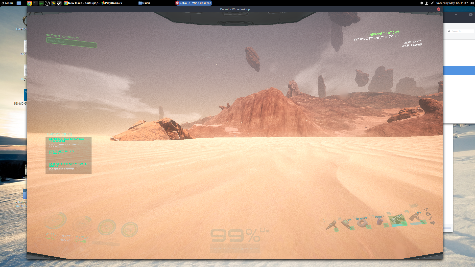 Osiris: New Dawn, player model rendering issues (affects other Unity