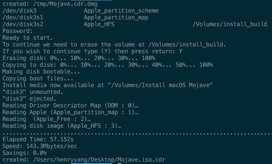 Convert MacOS 10 14 Mojave Installer App To ISO File · GitHub