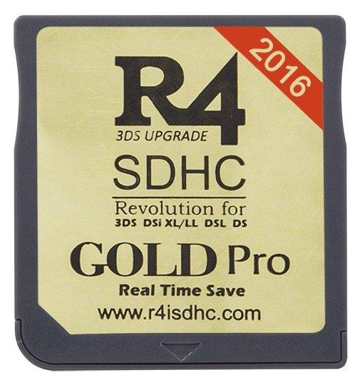 R4 WOOD - R4 Card | R4 DS | R4 3DS | R4i Gold 3DS PLUS