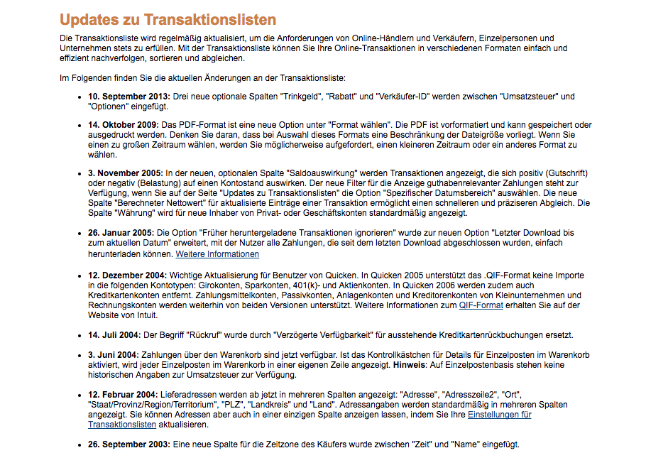 Import of paypal transaction fails · Issue #21 · johannesgerer