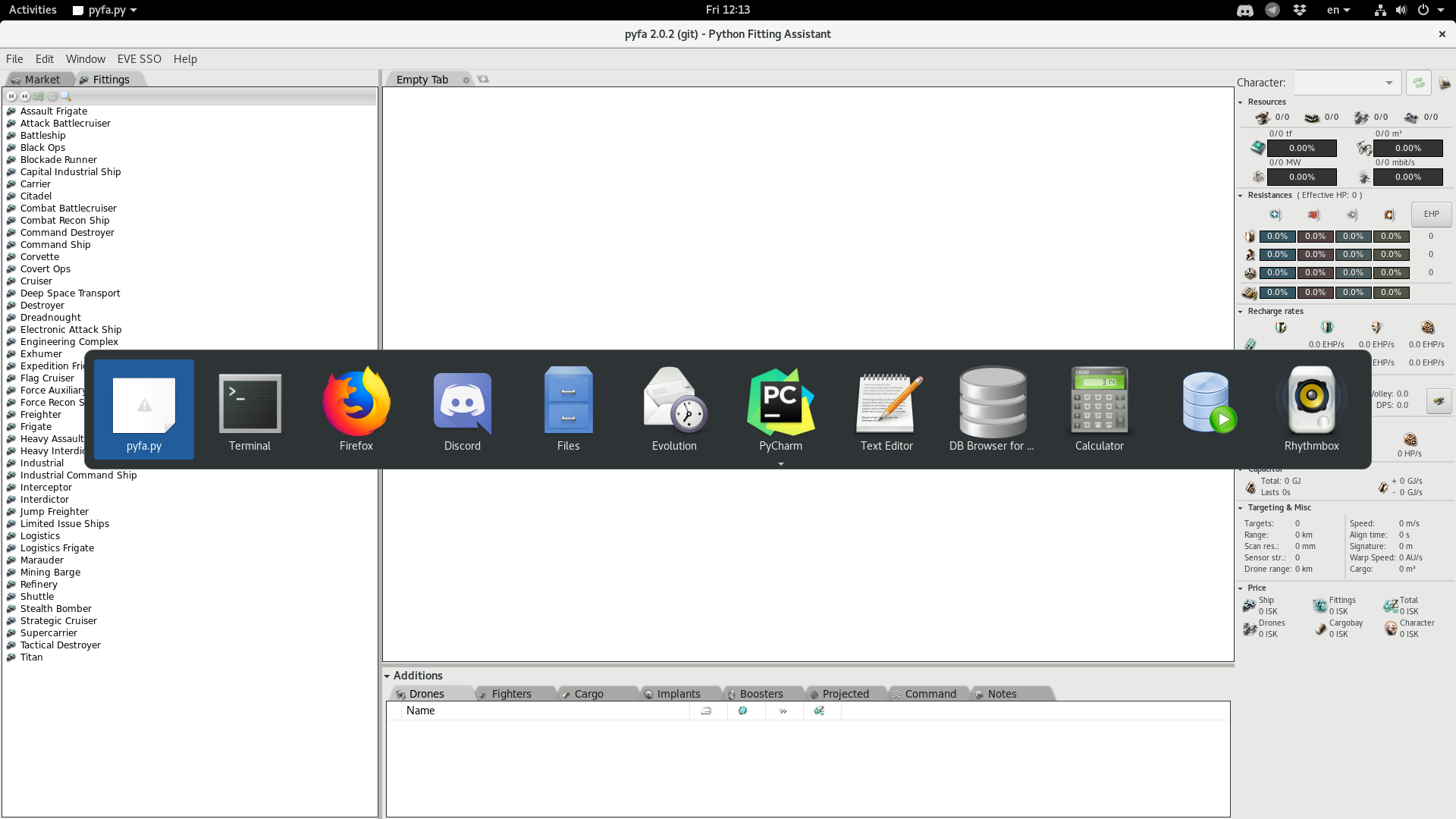Pyfa icon is not shown in linux/wayland session · Issue #1607 · pyfa