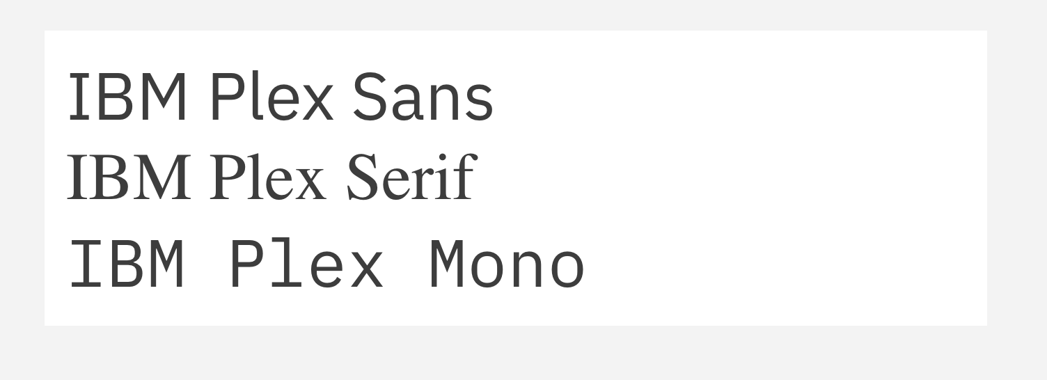 Sans-serif font isn't rendering on website · Issue #1184 · carbon