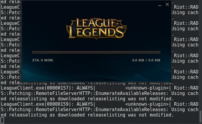 league of legends linux snap
