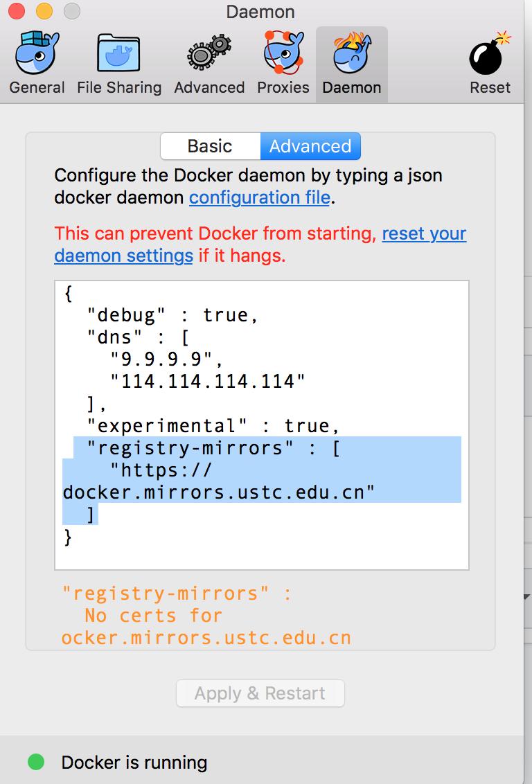 Error response from daemon: Get https://registry-1 docker io/v2