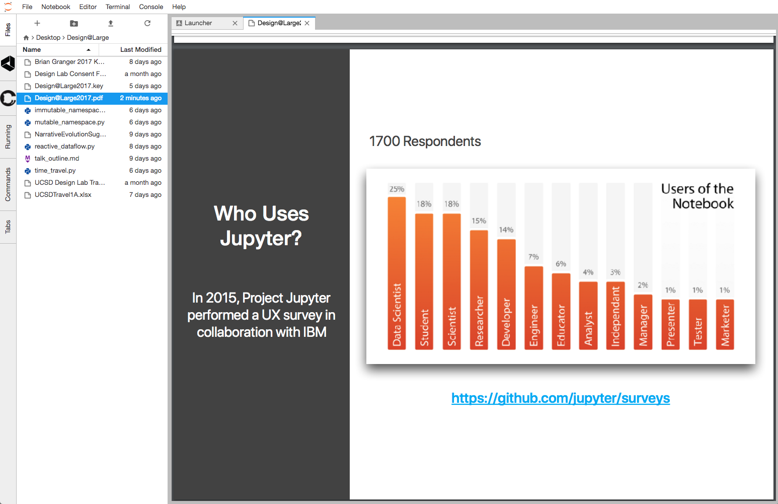 Feature request: serve slides from jupyter lab · Issue #3139