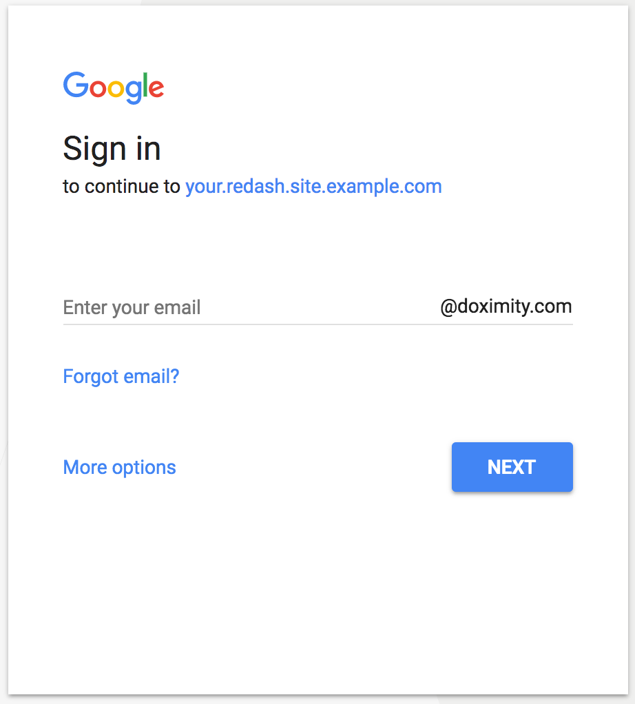 Add `hd` parameter for optimized Google Apps login · Issue