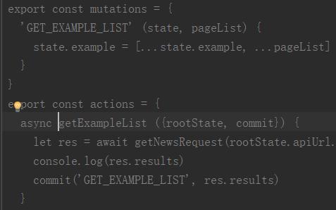 vuex modules error unknown action type · Issue #2054 · nuxt