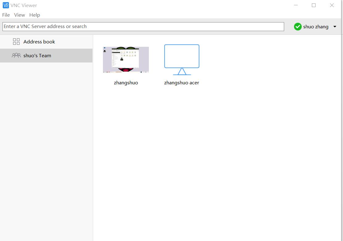 using a vnc client zhangshuo951227 raspberry pi wiki github