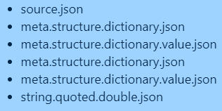 regular-json-strings-textmate