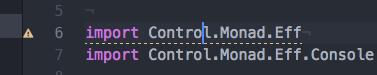 Error indication