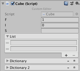 Default Custom Inspector-Editor for Unity3D with
