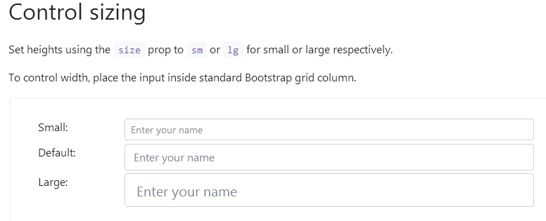 Attribute Size Inside B Form Input Being Ignored By Bootstrap Vue