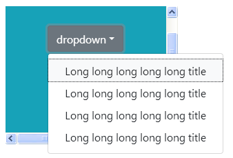 Big dropdowns are unusable when used inside an `overflow