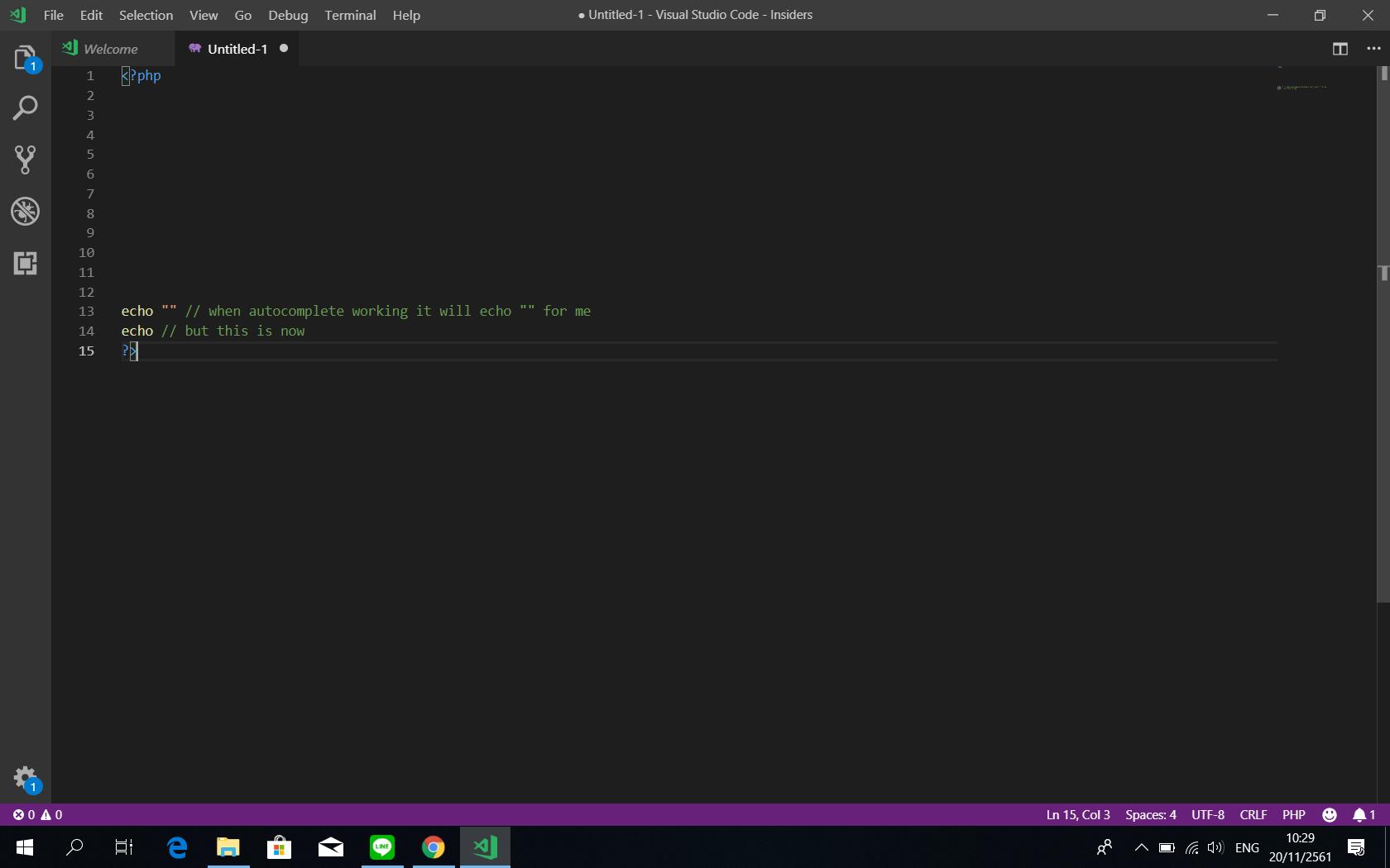 vscode auto complete · Issue #63438 · microsoft/vscode · GitHub