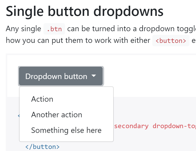 Dropdown should behave like plain Bootstrap · Issue #1273