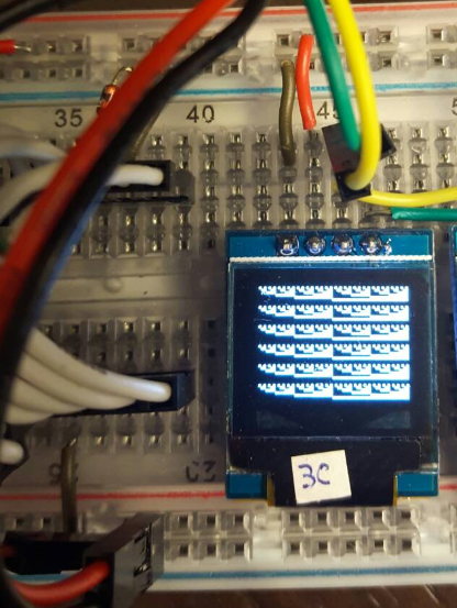 An I2C example added for the library by georgychen · Pull