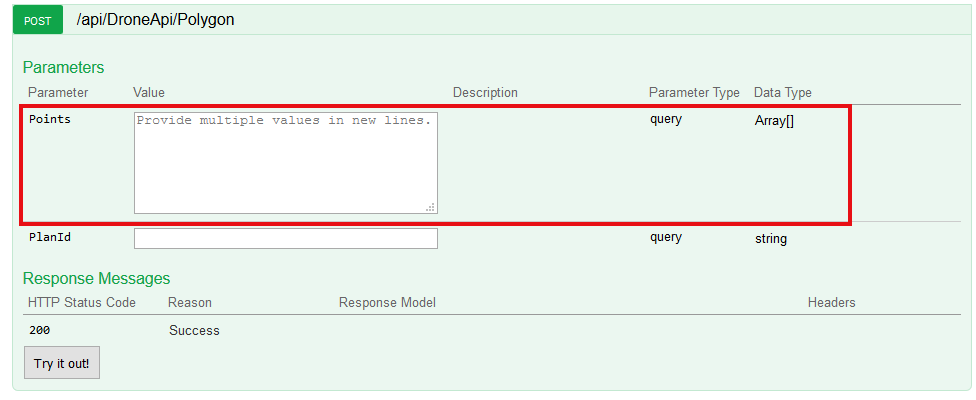 how to send array parameter to my interface? · Issue #4056