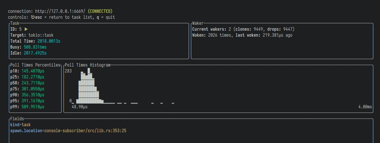 task details screenshot