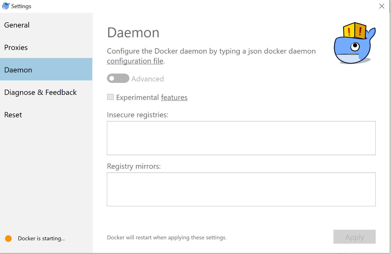 WARNING: Error loading config file: docker\config json - EOF · Issue