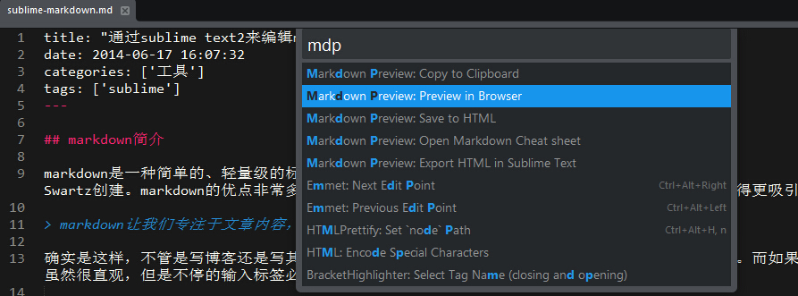 markdown-preview-browser