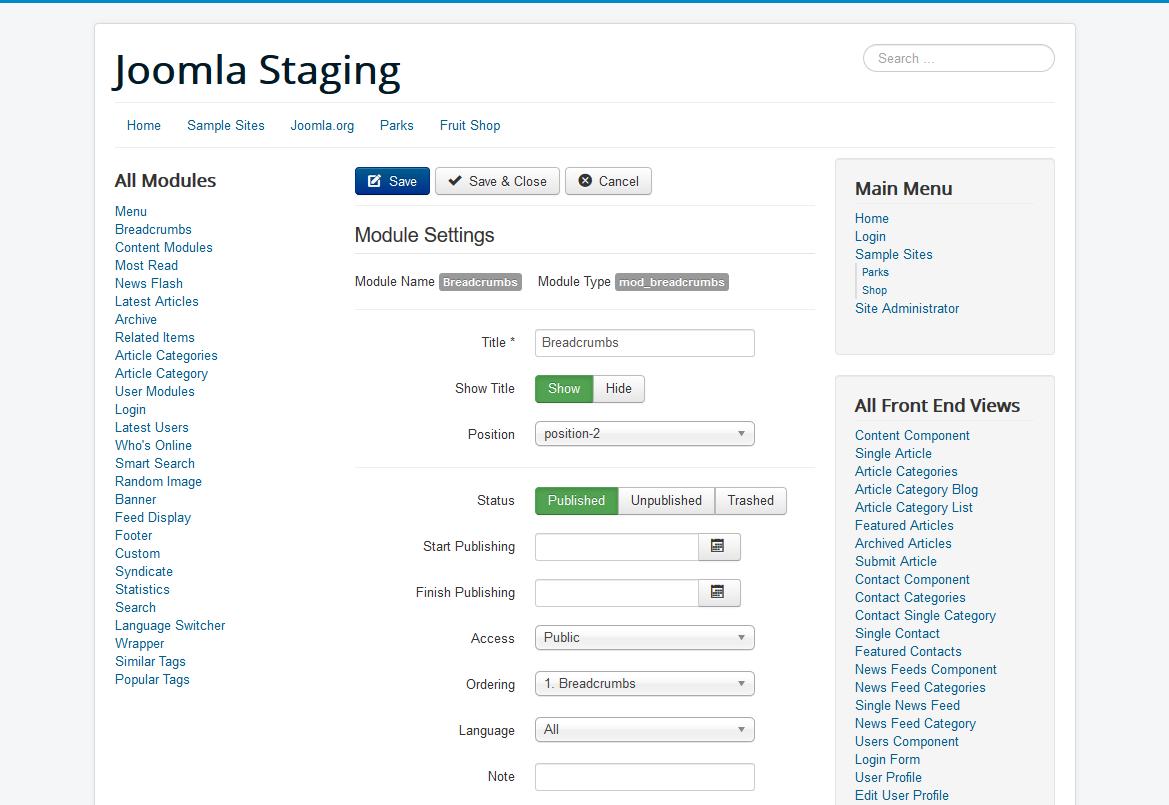 Joomla Issue Tracker Joomla Cms 22407 Protostar Flatten Ui