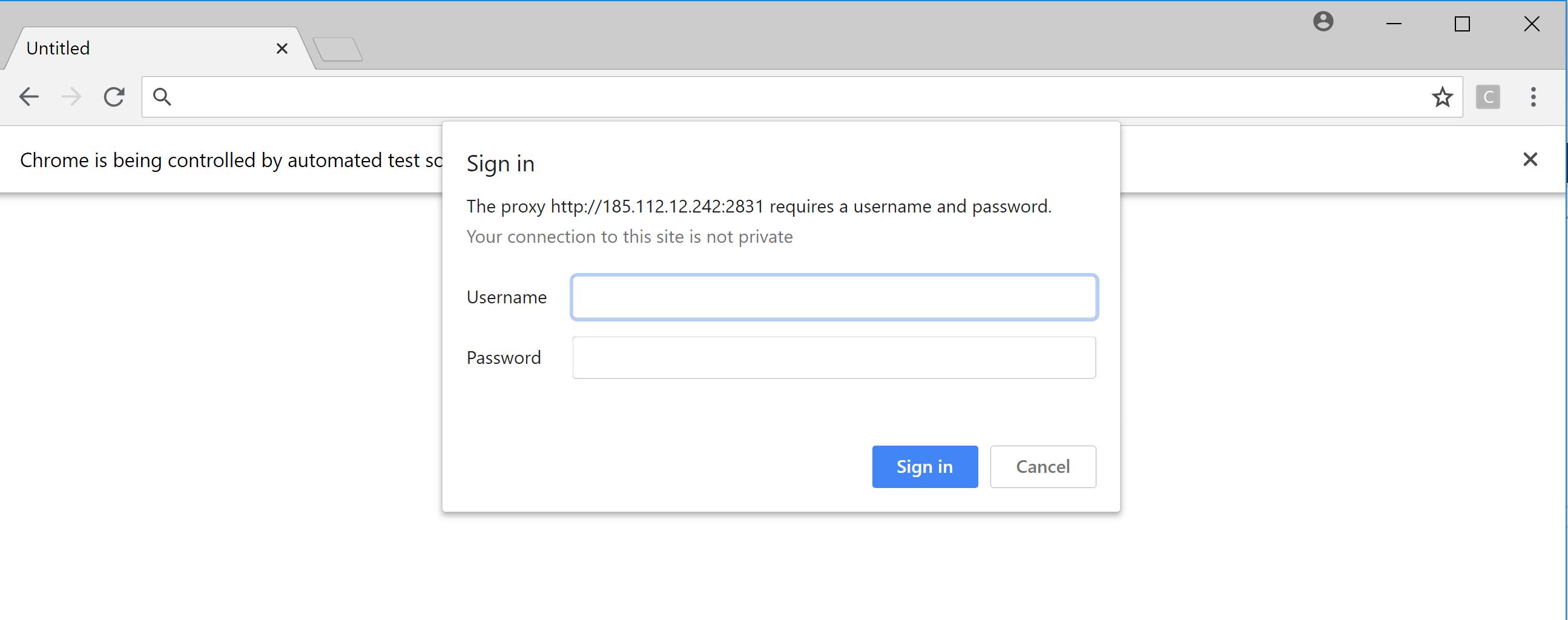 Proxy Authentication · Issue #1802 · SeleniumHQ/selenium · GitHub