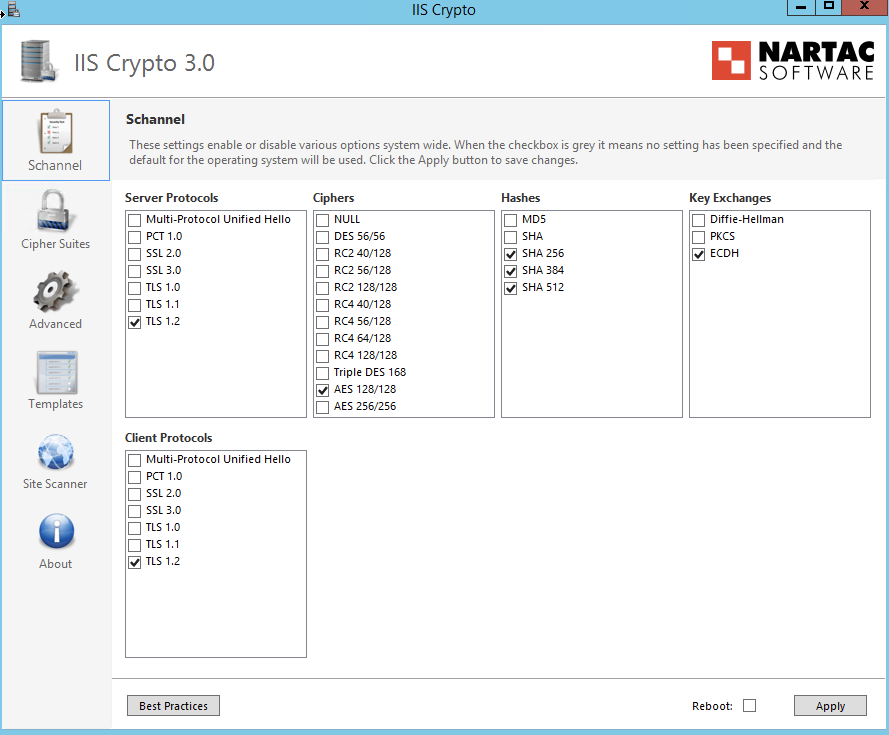TLS Handshake failed: Cannot read handshake packet: EOF