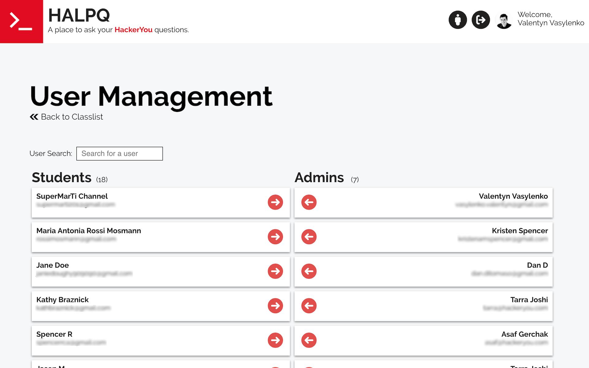 Halpq desktop screenshot