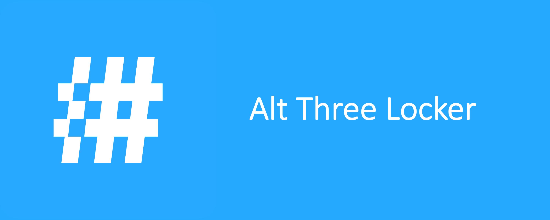 Alt Three Locker