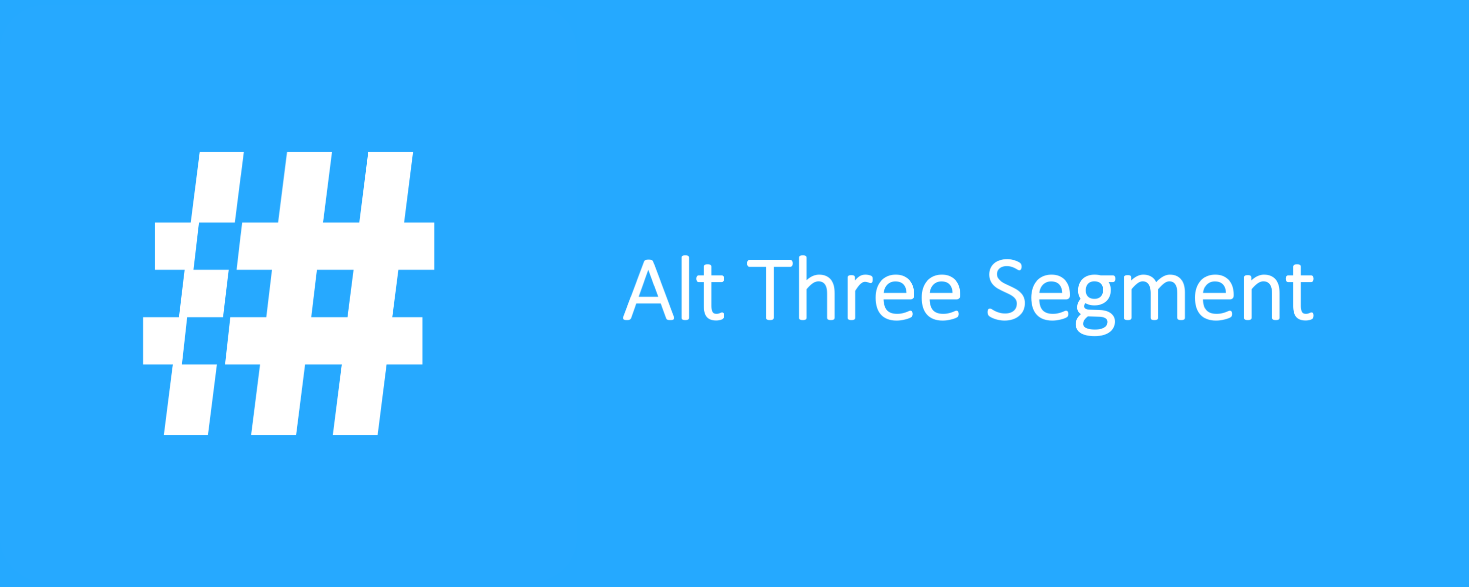 Alt Three Segment