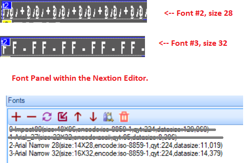 Font size flexibility · Issue #6 · hagronnestad/nextion-font