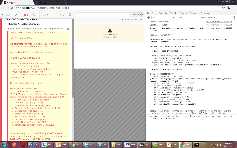 ESOCKETTIMEDOUT error · Issue #943 · cypress-io/cypress · GitHub