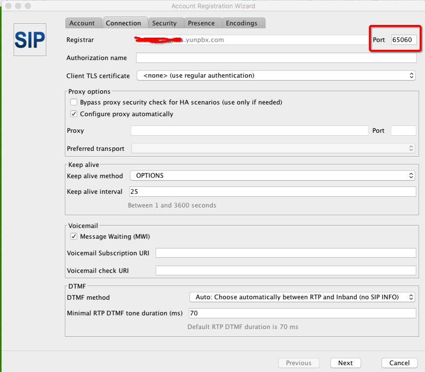 sip server port 65060, dns time out · Issue #73 · jitsi