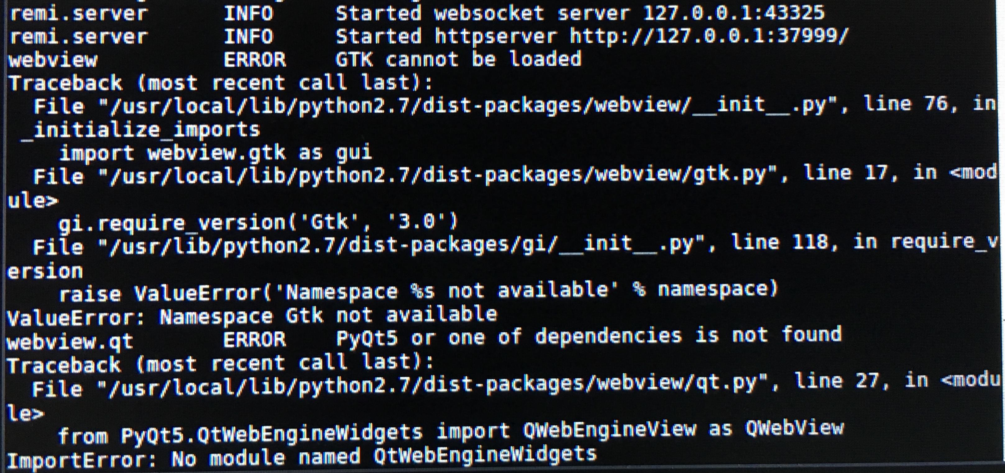RuntimeError: the PyQt4 QtCore and PyQt5 QtCore modules both