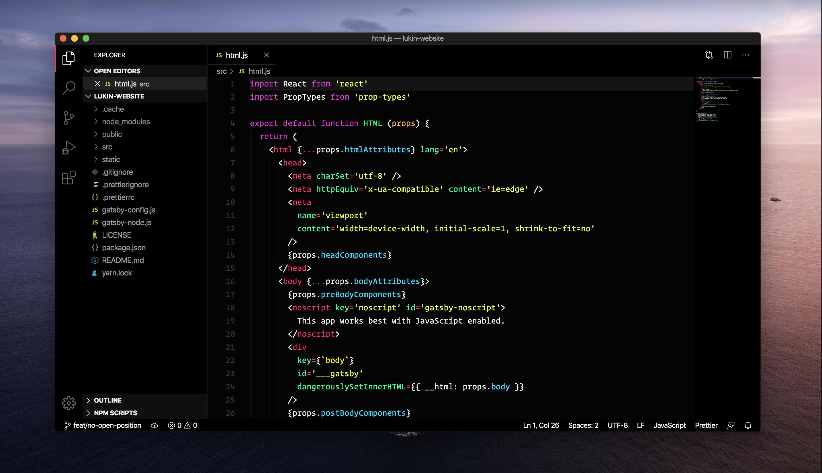 Lukin Theme Screenshot
