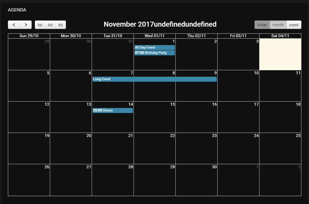 Title UndefinedUndefined · Issue #3911 · fullcalendar/fullcalendar