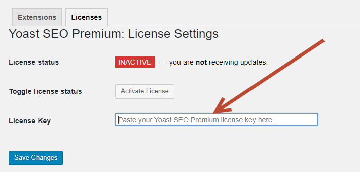 yoast seo premium license key free