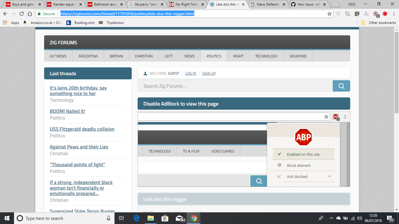 zigforums com has an anti-adblock detector · Issue #2791