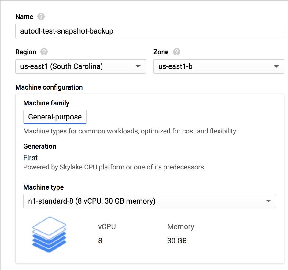 Restoring from VM Backups on Google Cloud · codalab/codalab