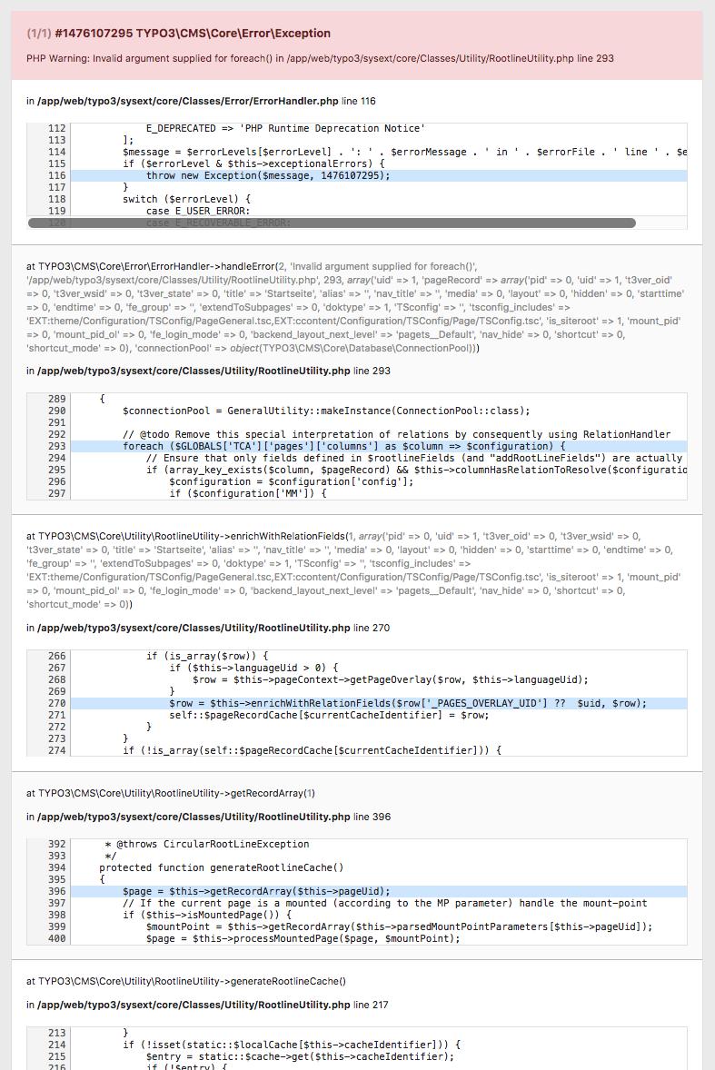 TYPO3 v9 5: Install Tool: Check for broken extension on