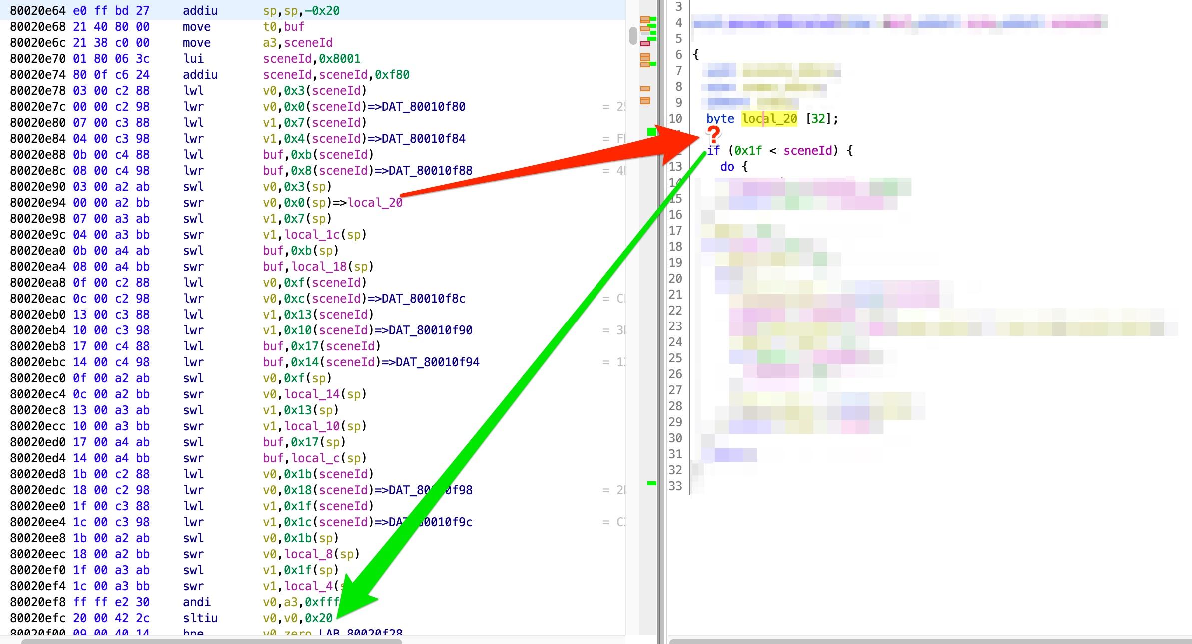 De pilation of MIPS LWL LWR SWL SWR doesn t work · Issue