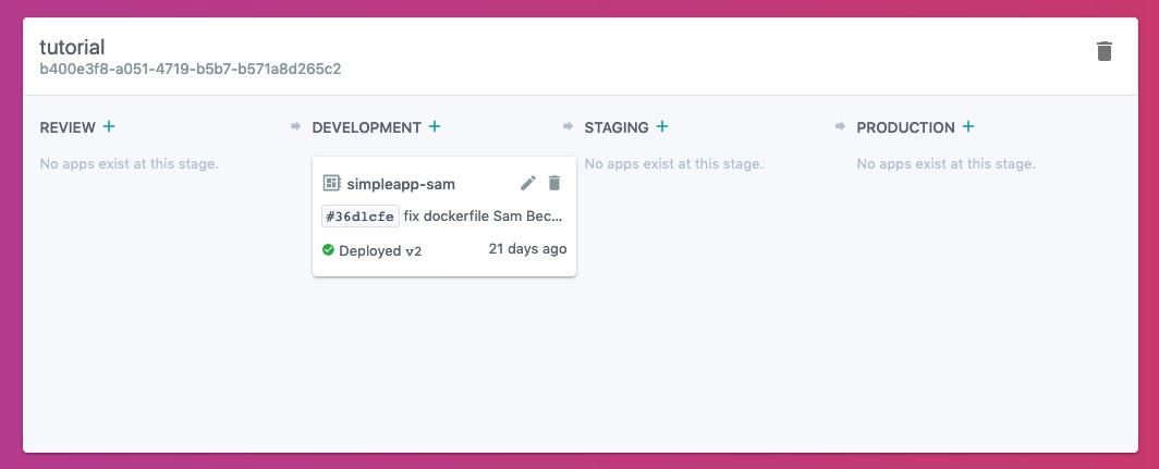 App In Development Stage