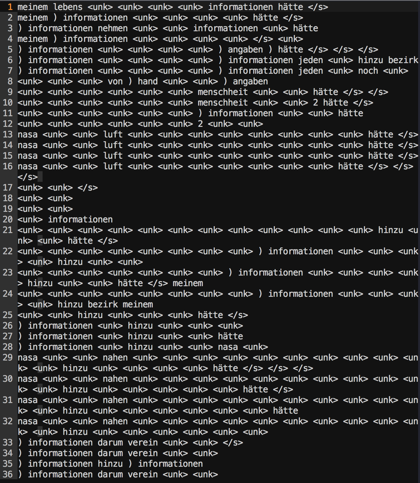 KeyError on testing · Issue #59 · jadore801120/attention-is