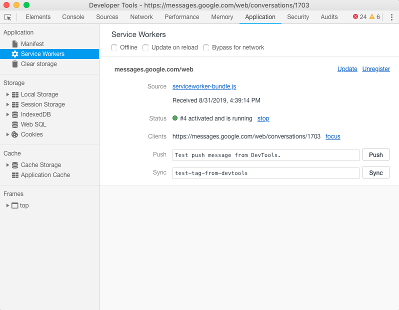 Android messages · Issue #1583 · meetfranz/franz · GitHub
